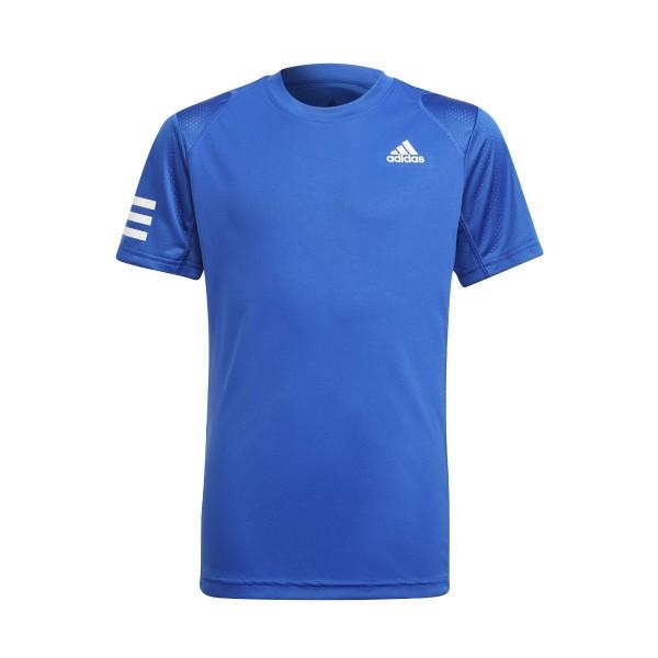 Adidas  Club 3-Stripes Boys' Tennis T-Shirt