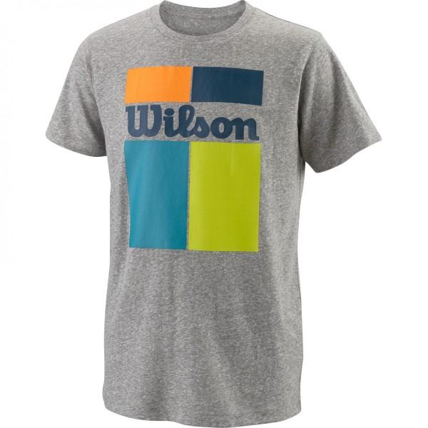 Wilson Grid Tech Boy's T-Shirt