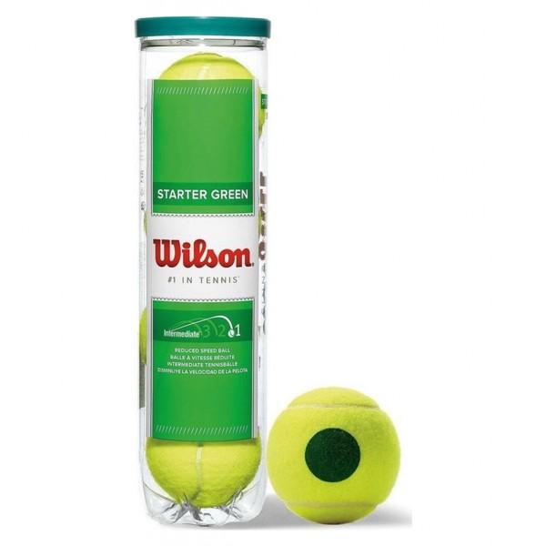 Wilson Starter Play Green x4